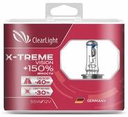 Лампа автомобильная галогенная ClearLight X-treme Vision +150% MLH7XTV150 H7 4300 2 шт.