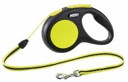 Поводок-рулетка для собак Flexi New Neon S тросовый