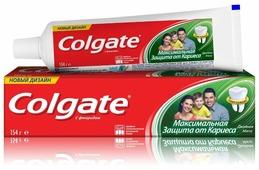 Зубная паста COLGATE Максимальная защита от кариеса Двойная мята 50 мл (4149010)