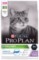 Корм для стерилизованных пожилых кошек Purina Pro Plan Sterilised 7+ для профилактики МКБ, с индейкой