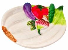 ELFF ceramics Тарелка Бабушкины соленья 15х12х3