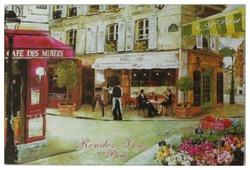 Разделочная доска Gift'n'Home Свидание в Париже CB-01-Rendez 20х30х0.4 см