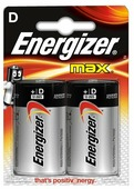 Батарейка Energizer Max D/LR20