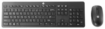 Клавиатура и мышь HP T6L04AA Black USB