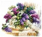 Чудесная Игла Набор для вышивания Аромат сирени 40 x 37 см (40-64)
