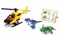 Игровой набор Chap Mei Охотник за динозаврами с вертолётом 542002-1