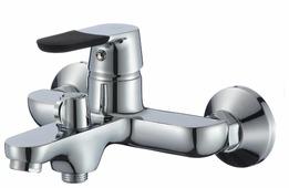 Однорычажный смеситель для ванны с душем Ростовская Мануфактура Сантехники SL123-009E