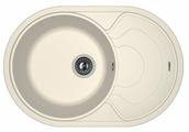 Врезная кухонная мойка FLORENTINA Родос-760 76х51см искусственный гранит