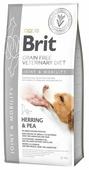 Корм для собак Brit Veterinary Diet сельдь с горошком