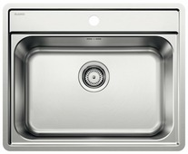Врезная кухонная мойка Blanco Lemis 6-IF 61.5х50см нержавеющая сталь