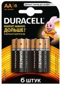Батарея Duracell Basic CN LR6-2BL AA (2шт)