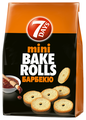 7DAYS сухарики mini Bake Rolls Барбекю, 80 г