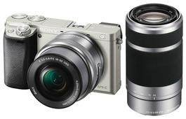 Фотоаппарат Sony Alpha ILCE-6000 Kit