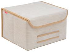 CASY HOME Коробка для хранения с крышкой ВО-043 22х35х30см