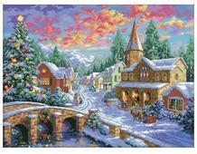 Белоснежка Набор для вышивания Рождественская ночь 47 x 35 см (2289)