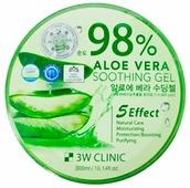 Гель для тела 3W Clinic универсальный с 98% содержанием экстракта алоэ вера Aloe Vera Soothing Gel