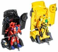 Робот-трансформер Jia Qi оединки робокаров (полицейская и гоночная машины)