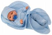 Интерактивная кукла Antonio Juan Гектор в голубом 37 см 1446B