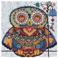Белоснежка Набор для вышивания Волшебная сова 27,5 x 27,5 см (167)