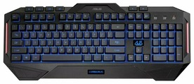 Клавиатура ASUS Cerberus Keyboard Black USB