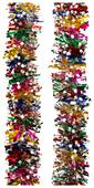 Мишура Феникс Present новогодняя цветная 200 х 9 см