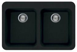 Врезная кухонная мойка smeg LSE802-2 80х53см искусственный гранит