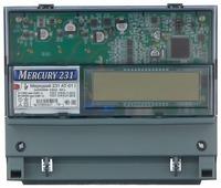 Счетчик электроэнергии трехфазный многотарифный INCOTEX Меркурий 231 АT-01 I (2 тарифа) 5(60) А