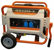 Газо-бензиновый генератор Russian Engineering Group GG3300-X (2400 Вт)