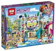 Конструктор Lepin Girls Club 01068 Курорт Хартлейк Сити