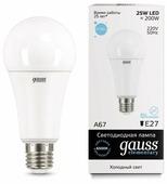 Лампа светодиодная gauss 73235, E27, A67, 25Вт