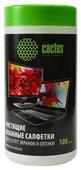 Cactus CS-T1001 влажные салфетки 100 шт.
