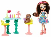 Кукла Enchantimals Маникюрный салон Селы ленивца, GFN54