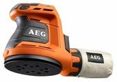 Эксцентриковая шлифмашина AEG BEX 18-125-0 коробка