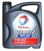 Моторное масло TOTAL Quartz INEO ECS 5W30 4 л