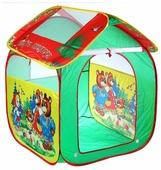 Палатка Играем вместе Три медведя домик в сумке GFA-3BEAR-R