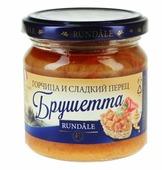 Соус Rundale Брушетта с горчицей и сладким перцем, 180 г