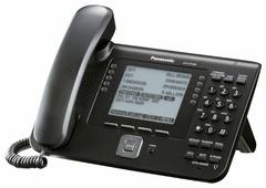 VoIP-телефон Panasonic KX-UT248 черный