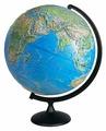 Глобус физико-политический Глобусный мир Двойная карта 420 мм (10356)