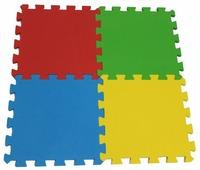Коврик-пазл ЭкоПолимеры Разноцветный пол 4 кв.м