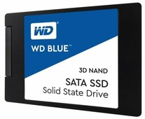 Твердотельный накопитель Western Digital WD BLUE 3D NAND SATA SSD 500 GB (WDS500G2B0A)