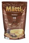 Мюсли Matti хлопья и шарики с бананом и шоколадом, дой-пак
