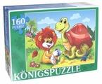 Пазл Рыжий кот Konigspuzzle Сказка №53 (ПК160-5842), 160 дет.