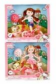 Кукла Карапуз Hello Kitty Моя подружка Машенька, 15 см, в ассортименте, MARY63003-HK