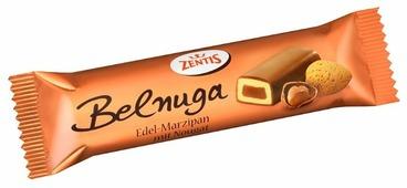 Батончик Zentis Belnuga марципановый с нугой, 60 г
