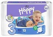 Bella Baby happy подгузники fun 3 (5-9 кг) 13 шт.