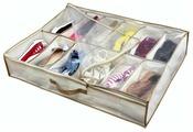 HAUSMANN Кофр для хранения обуви DV-201/DV-201P 74.5х60х15 см