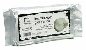 Полимерная глина Малевичъ белая 500 г (810002)