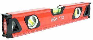 Уровень брусковый 3 глаз. RGK U7040 40 см