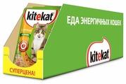 Корм для кошек Kitekat с курицей (кусочки в желе)