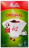 Одноразовые фильтры для капельной кофеварки Melitta Original белые Размер 1х2